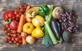 a diet rich in fruit and vegetables outweighs concern about