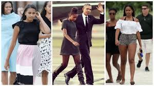 Obama S Vacation Barack Obama U0027s Daughter Sasha Obama 2017 Youtube