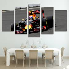 aliexpress com buy 5 piece canvas prints wall art f1 cycle