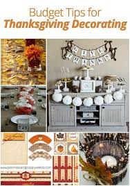 affordable ideas for thanksgiving decorating home stories a to z