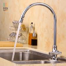 copper kitchen faucet wash dish basin sink tank pool of single