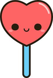 heart lollipop heart lollipop stickers by peppermintpopuk redbubble