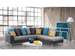 basika canapé canapé d angle morea mutlicolore design scandinave http