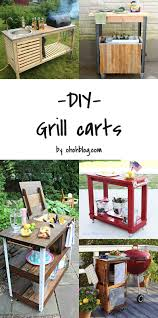 Diy Backyard Grill by Diy To Try Grill Carts Ohoh Blog