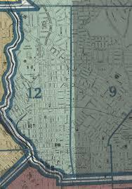 Baltimore City Map Baltimore City 1935 Ward 12