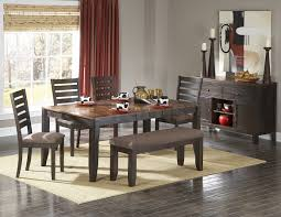 kitchen amusing brown rectangle rustic wooden dining room table