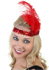 flapper headband flapper headband