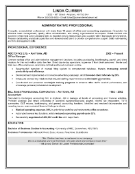 Sample Resume Of Executive Assistant by Professional Resume Administrative Assistant Free Resume Example