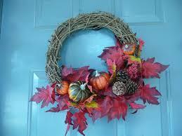 fall home decor wreath art ideas crafts