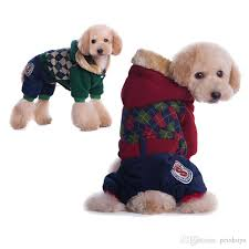 teddy clothes teddy fashionable dog clothes pet clothes the winter four leg