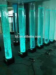 New Year Stage Decoration Ideas by Glowing Light Led Square Water Bubble Tube Wedding Stage