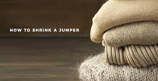how to shrink a jumper the idle man