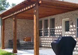 Patio Paver Base Material by Make It A Functional And Decorative Patio Roof In Your Design
