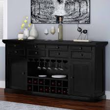 solid wood classic wine bar sideboard cabinet