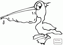 funny flying pelican pelicans birds pelicans coloring pages for