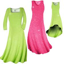 sold out pretty pink or lime green sparkle glimmer slinky plus
