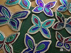 diy butterfly garden ornament diy butterfly ornament tutorial