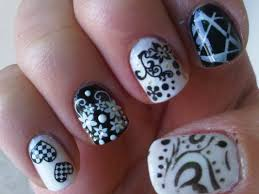 black nails design pictures choice image nail art designs