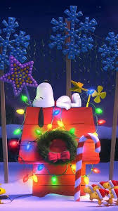charlie brown christmas lights cellphone background wallpaper snoopy charlie brown pinterest