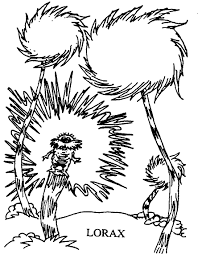 dr seuss coloring page free download