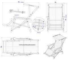 Free Adirondack Deck Chair Plans by Beach Chair Plan Assembly Drawing Furniture Ideas Pinterest