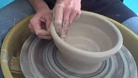 throwing a pot throw a pot on a wheel diy