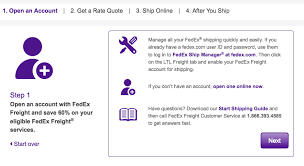fedex freight quote extraordinary fedex ltl freight quotes