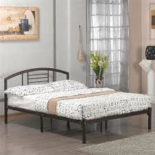 amazon com wallace metal bed frame in white with vintage regarding
