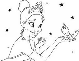 disney princess and frog coloring pages barbie coloring pages