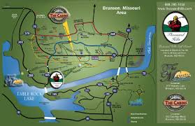 table rock lake map branson map and weather majestic at table rock