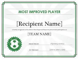 13 free sample soccer certificate templates u2013 printable samples