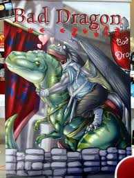 Bad Dragon Bad Dragon Meets Dinotopia What A Perfect Match Flickr