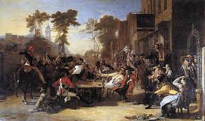 how nottingham celebrated the battle of waterloo or didn t 1815