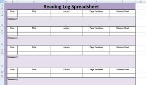 reading log template be new reading log printables reading