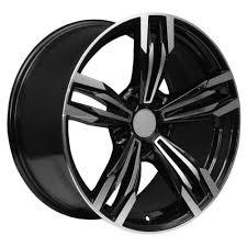 bmw x5 rims black 19 machined black rims fits bmw x5 x6 series