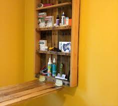 Wall Desk Diy by Computer Desk Made Out Of Pallets U0026 Shelf