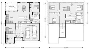 Narrow Lot Floor Plans by House Plans Floor Sloped Land House Design Sloped Lot House Plans