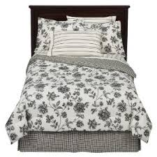 Black And White Toile Bedding Girls Bedding Sets Rooms Black White Bedding Picture Hanakouchiha
