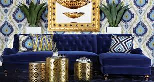 Blue And Gold Home Decor If You U0027re After A Fresh Look For The New Year Trends Can Be A