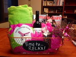 relaxation gift basket cute gift ideas pinterest relaxation