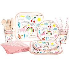 party supplies cheap unicorn birthday party supplies set riscawin party set supplies
