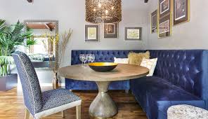 beautiful banquette beautiful banquette in this mill valley in the trees rue dining