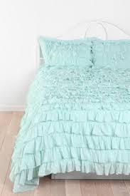 waterfall ruffle duvet cover ruffles pillows and ruffle bedding