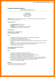scientist resume template free general resume templates how to