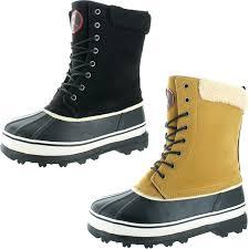 revenant men u0027s waterproof sherpa snow duck boots free shipping
