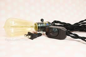 pendant light kit bulk pack 6 single pearl black socket pendant light l cord kits
