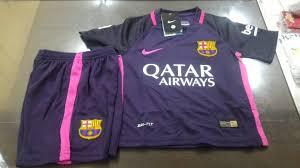 Baju Gambar Nike baju bola anak barcelona away 2017 nike jual jersey barcelona