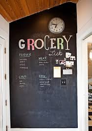 chalkboard ideas for kitchen grocery list chalkboard in the kitchen welcome home