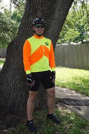 mens hi vis cycling jacket long sleeve cycling jersey see me wear high visibility cycling