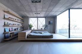 deco chambre parentale design photo de chambre parentale 7 deco lit estrade bois etageres